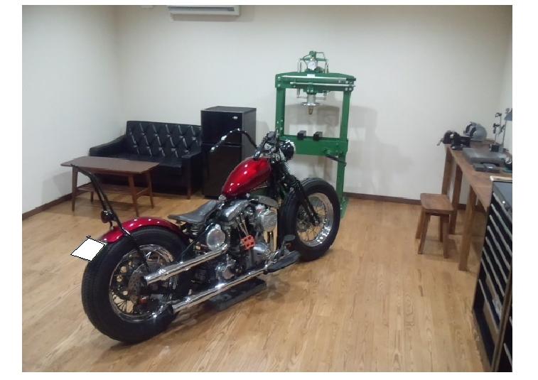 バイクガレージのある